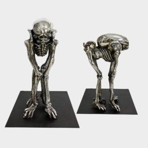 HR Giger Skulptur