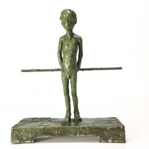 In Gedanken Bronze, 2020 H 26 Cm Auflage 6