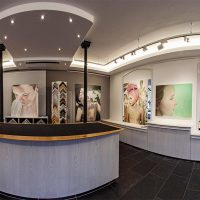 Mit Dem 360° Panorama-Rundgang Durch Die Ausstellung Von Simone Toni Weibel